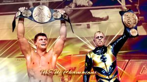 Cody Rhodes and Goldust New Champions Wallpaper by MarcusMarcel