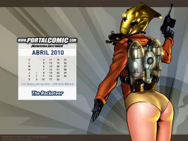 Rocketeer by PortalComic