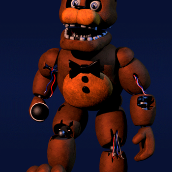 Withered Freddy walk-cycle by EverythingAnimations