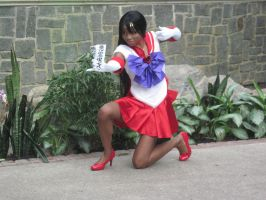 Katsucon 2013 Sailor Mars by VocaloidBrit