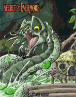 Secret of evermore_swamp boss by Retromissile