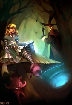 alice and co by loish