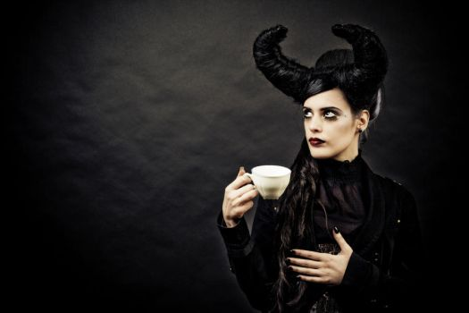 Gothic Tea Time by Anneke-Necrophyle
