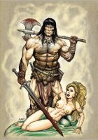 Conan The Cimmerian by RubusTheBarbarian