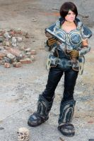 Sam - Gears of War cosplay by cimmerianwillow