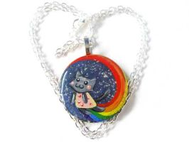 Nyan Cat Pendant 6 by sobeyondthis