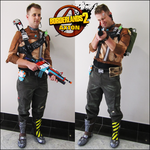 Borderlands 2 - Axton Costume/Cosplay by sugarpoultry