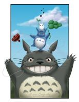 Totoro Tower by KrisCynical