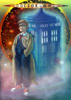 Dr Who by Mirettes