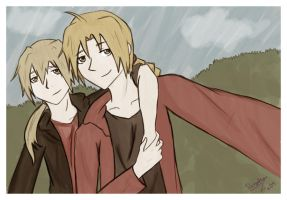 Edward and Alphonse s2 by ritalinXD