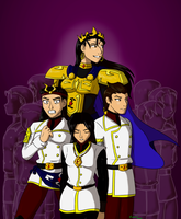 The Imperial Family by funakounasoul