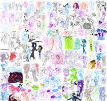 1202012 Doodles by KenDraw