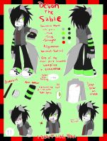 =.:The Bae's Ref Sheet:.= by FarFromSerious