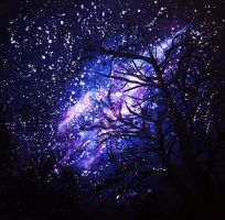 Night Sky by NadineSabbagh