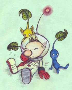 Olimar- first try by who-stole-MY-name