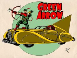 Green Arrow by jaypiscopo