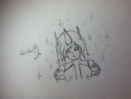Ratchet's reaction to Lucy's cybertronian form pg1 by Lil-9