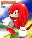 Knuckles The Echina by Rafeal