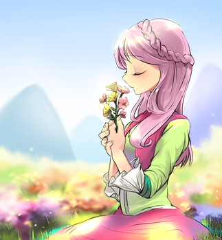 lovely flowers by quizia