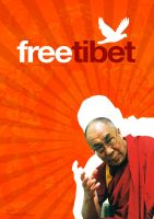 Free Tibet by thomasgraphic