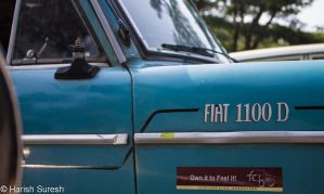 The FIAT 1100D by harishrvt
