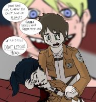 Every death when we play attack on titan by Keilanify