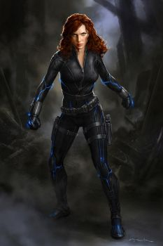 AndyPark BlackWidow02 by andyparkart