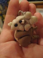 Cubone Key Chain v.1 by Hey-Jealousy
