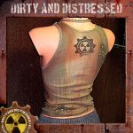 Ruined and Rusted Tank Top B by DirtyandDistressed
