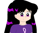 Rei Hino wearing a Pink ribbon shirt by ElMarcosLuckydel96