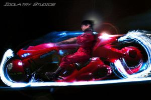 Kaneda's Bike by idolatrystudios
