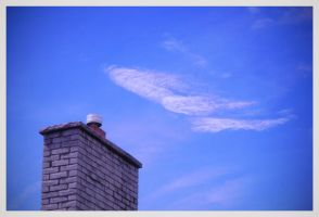 Away Above the Chimney Top by JilliD