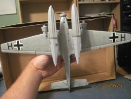 Junkers Ju52-3M: Bottom View by cloudyrainbow561
