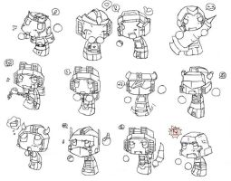 Marshmallow Transformers by insertevillaughhere