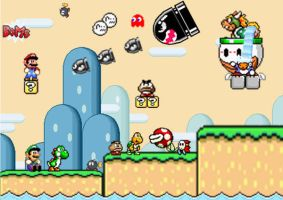 Super Mario World. 3 by patrick20cool
