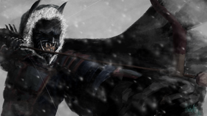 Feudal Japan Batman by Joct