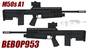 M50s A1 Bullpup Rifle by BeBop953