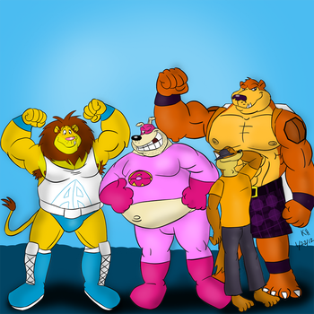 Dough-Mutt and others... (OLD ART)01/22/2012 by Dough-Mutt