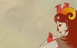 Wallpaper - Aradia Megido by jessiejazz