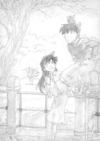 Shinichi and Ran by yupiyeyo