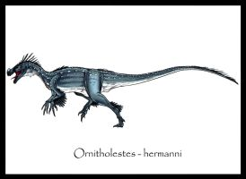 Ornitholestes Hermanni by Danillo-Toga