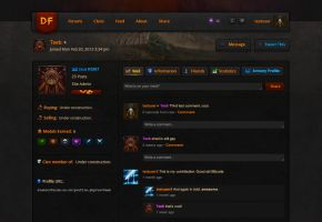 D3 Forum and Social Network - User Profile 2.0 by tombruceclayton