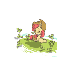 apple bloom by uNeet