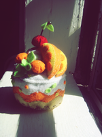 Craft - Orange Cake Creation by firstfear