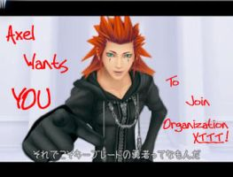 Axel wants YOU... by ShaeVIII
