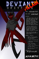 Deviant Universe - Anarchy by LulzyRobot