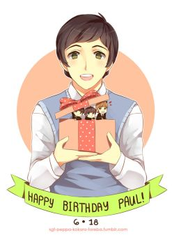 .: HBD Paul McCartney :. by PepperMoonFlakes