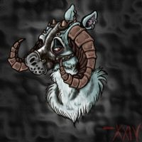 Request- Tauntaun in a Muzzle by YaginoBaka