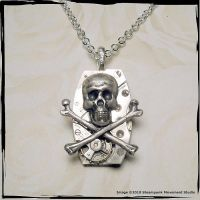 Time Traveler Necklace by SoulCatcher06