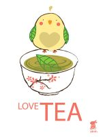 TEA-BIRD: LOVE TEA by lolita-candy-bear